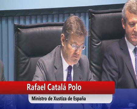 Clausura da xornada A loita administrativa e xudicial contra o narcotráfico  - Xornada sobre a loita administrativa e xudicial contra o narcotráfico